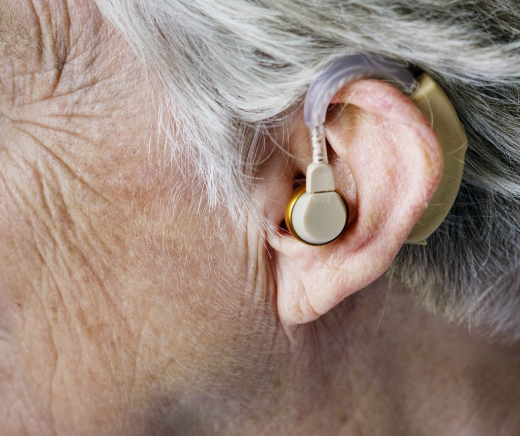 An image of hearing aids